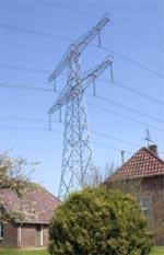 Electrosmog electricity pylon